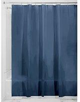 InterDesign PVC-Free PEVA 3-Gauge Shower Curtain Liner, 183 x 183 cm - Navy