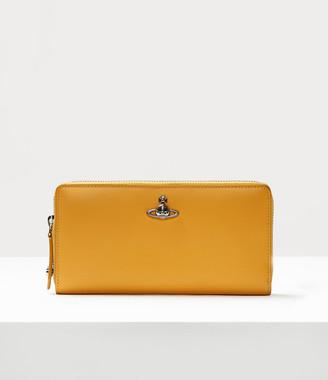 Vivienne Westwood Pimlico Zip Round Wallet Yellow