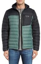 Mountain Hardwear Men's Dynotherm Packable Hooded Down Jacket