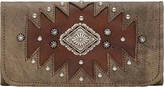 American West Women's Annie's Secret Hand-Cut Tri-Fold Wallet