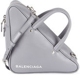 Balenciaga Small Leather Triangle Duffle Bag