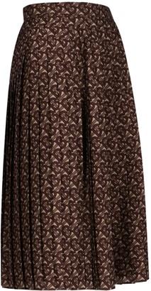 Burberry Marine Midi Skirt