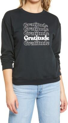 Sub Urban Riot Gratitude Willow Graphic Sweatshirt