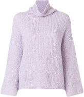 Lamberto Losani turtle neck jumper - women - Silk/Cashmere - 40