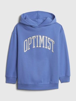 Gap Teen Oversized Optimist Hoodie