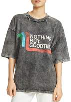 Maje Tassia Nothing But Good Times Graphic Tee