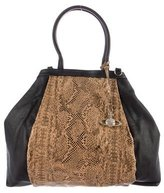 Vivienne Westwood Grained Leather Tote