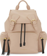 Burberry Logo leather backpack