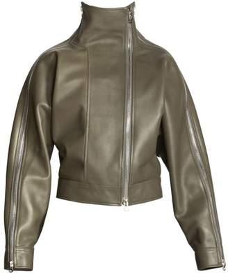 Acne Studios Lorca Convertible Leather Jacket