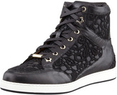 Jimmy Choo Tokyo Lace High-Top Trainer
