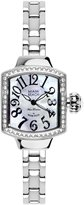 Glam Rock Women's Miami Beach Art Deco 27mm Steel Bracelet & Case Quartz MOP Dial Analog Watch MBD27171