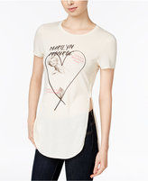 Freeze 24-7 Juniors' Marilyn Monroe High-Low Graphic Tunic T-Shirt
