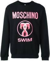 Moschino logo print sweatshirt - men - Cotton - XS