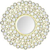 Ren Wil Ren-Wil Dios 42-Inch Round Mirror in Gold