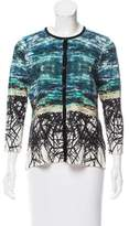 Yigal Azrouel Printed Button-Up Cardigan