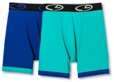 Champion Men's 2Pack Boxer Briefs - Green/Blue M