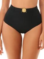 Simba Skinny Dippers Pin-Up High-Waist Bikini Bottom