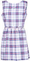 Kitsune Maison Sleeveless Check Dress