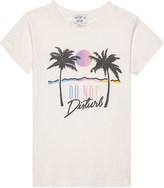 Wildfox Couture Do Not Disturb cotton T-shirt 4-6 years