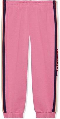 Gucci Kids Children's jogging pant with stripe