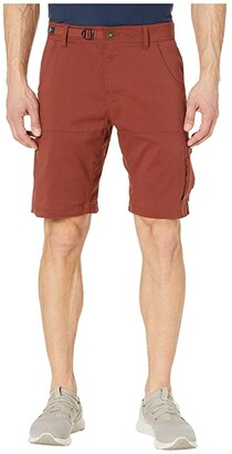 Prana Stretch Zion 10 Short (Maple) Men's Shorts