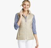 Johnston & Murphy Knit-Back Quilted Vest