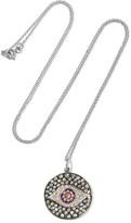 Ileana Makri Dawn 18-karat White Gold, Sapphire And Diamond Necklace - one size