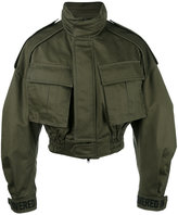 Juun.J cropped military jacket - men - Cotton - 44