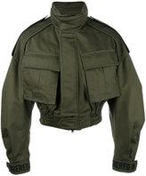 Juun.J cropped military jacket
