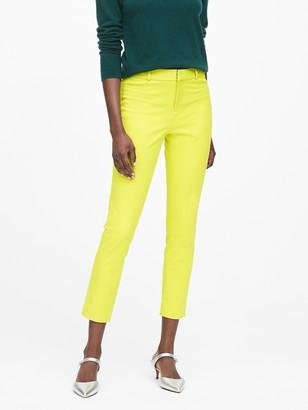 Banana Republic Modern Sloan Skinny-Fit Brushed Washable Pant