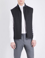 Corneliani Reversible wool gilet