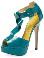 Charlotte Olympia Loretta T-Strap Platform Sandal