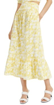 INC International Concepts Inc Petite Tiered A-Line Skirt, Created for Macy's