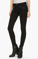 Rag and Bone Zip Pocket Skinny Stretch Jeans