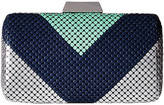 Jessica McClintock Callie Color Block Minaudiere