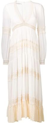Philosophy di Lorenzo Serafini Flared Maxi Dress