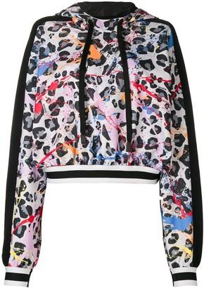 NO KA 'OI No Ka' Oi leopard print hoodie