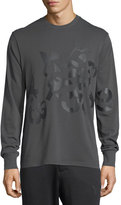 Y-3 Shattered Logo Cotton Sweatshirt