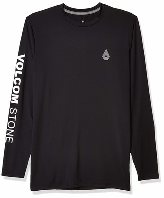 Volcom Men's More of Us Long Sleeve UPF 50+ Rashguard