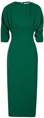 Emilia Wickstead Exclusive to Mytheresa Hannah wool crepe midi dress