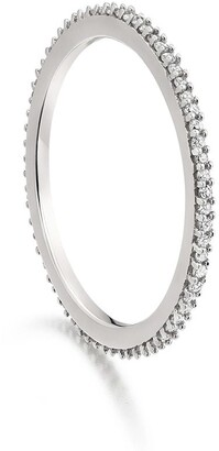 Monica Vinader Skinny Eternity Diamond ring