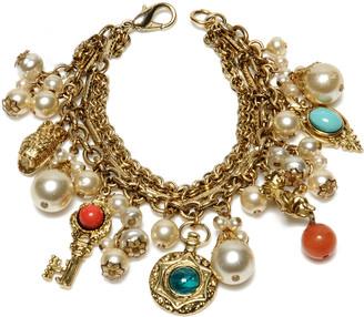 Ben-Amun Mixed Charm Bracelet