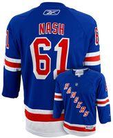Reebok Boys 8-20 New York Rangers Rick Nash NHL Replica Jersey