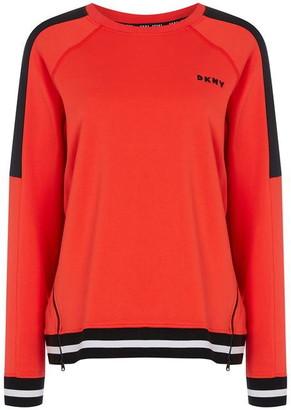 DKNY Sport Sport Boxy Zip Sweatshirt