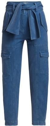 Derek Lam 10 Crosby Elian Belted Cargo Trousers