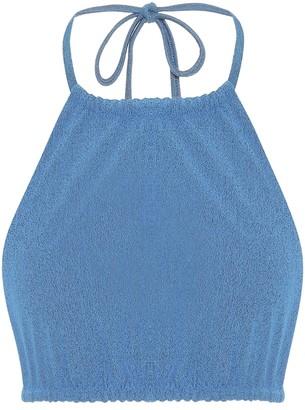 JADE SWIM Nova halterneck bikini top