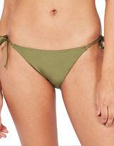 Topshop Tie-Side Bikini Bottoms