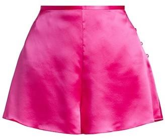 Alejandra Alonso Rojas Satin Tap Shorts