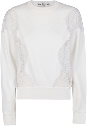 Givenchy Lace Panels Sweater