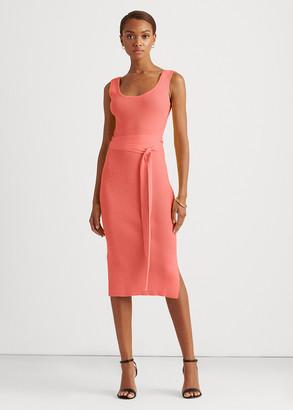 Ralph Lauren Cotton-Blend Sleeveless Dress